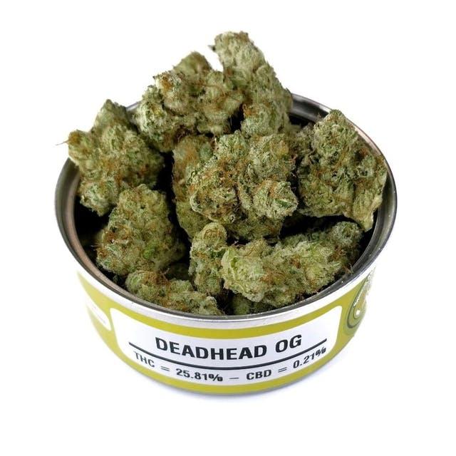 deadhead og cannabis strain